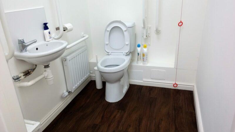 Wheelchair Accessible Washroom