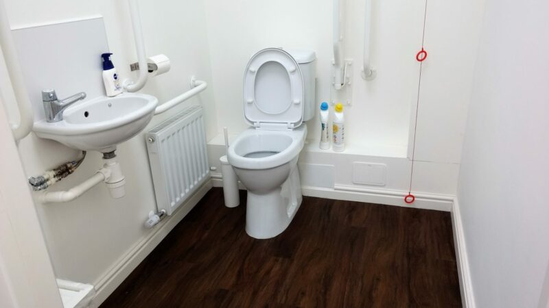 Wheelchair Accessible Washroom