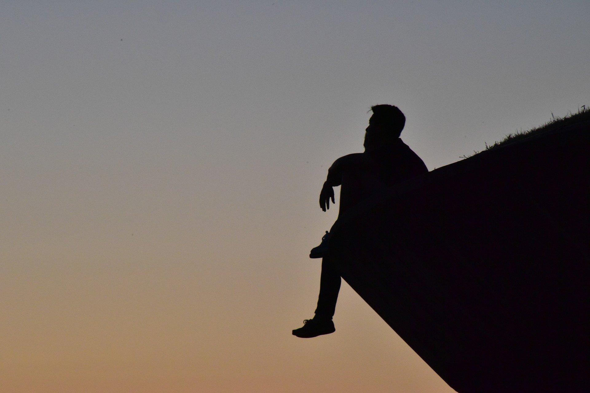 Thinking Man Image
